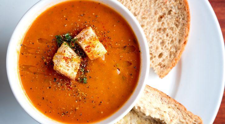 La ricetta del gazpacho con polpo