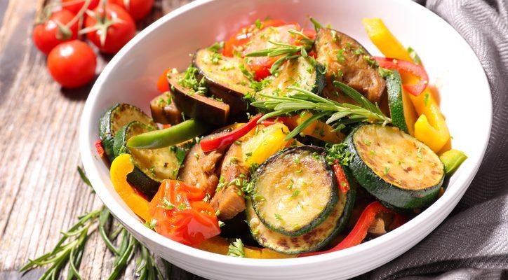 Come preparare la ratatouille di verdure al microonde