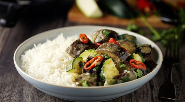 Riso basmati con verdure, la ricetta light