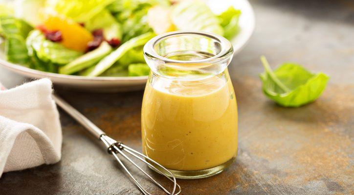 La ricetta della salsa con senape maionese e miele