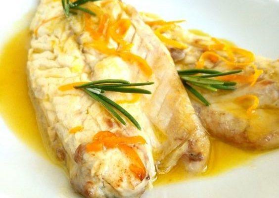 La ricetta dello sgombro marinato all'arancia