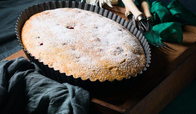 La torta con farina di maiorca con la ricetta semplice
