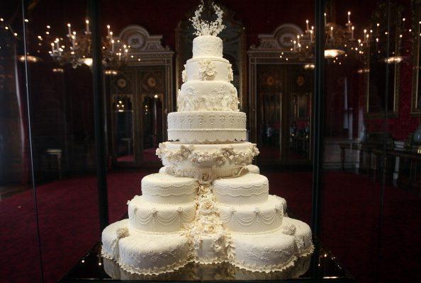 Le torte nuziali dei reali che hanno fatto la storia