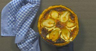 Torta salata pere e formaggi: ricca e invitante