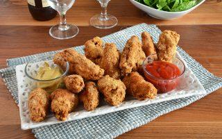 Alette di pollo fritte: gustose