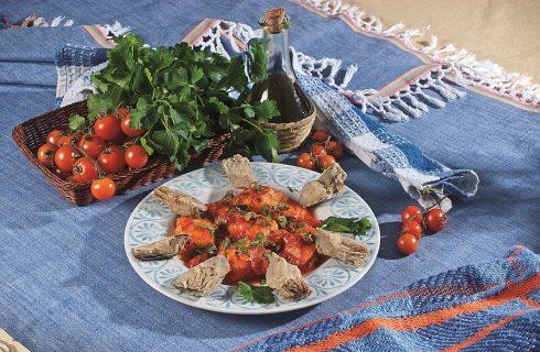 Baccalà in salsa con carciofi croccanti, un secondo veloce e saporito