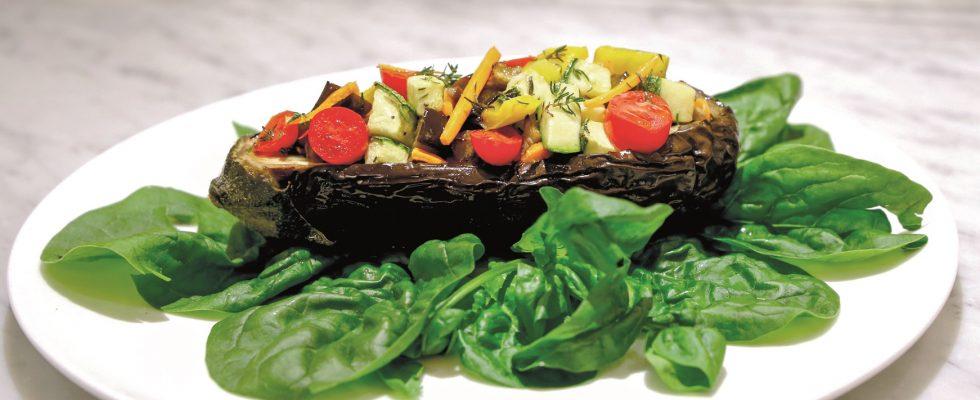 Barchette di melanzane, la ricetta vegetariana