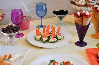 Barchette di zucchine, antipasto con fantasia