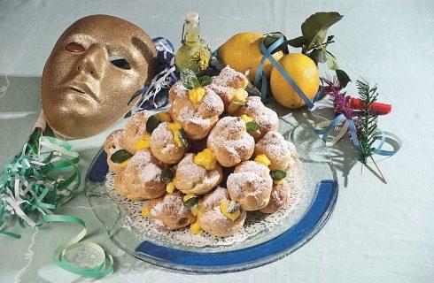 Bignè al limoncello, dolcetti di Carnevale fritti e morbidi