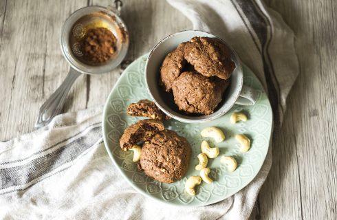 Biscotti agli anacardi, pasticcini croccanti