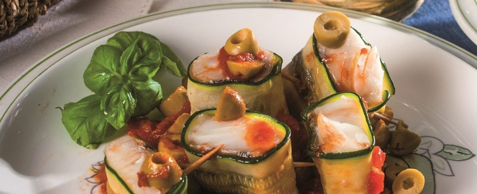 Bocconcini di merluzzo e zucchine, delizioso secondo di pesce