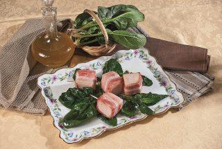 Bocconcini di tacchino con spinaci saltati, un secondo saporito e veloce