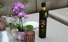 L'olio DOP Riviera Ligure accompagna l'alta ristorazione italiana