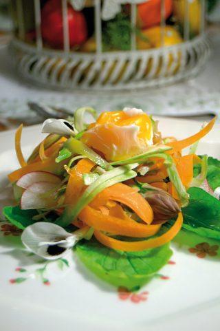 Bouquet di verdure, un contorno veloce e d'effetto