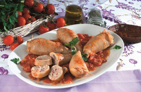 Calamari ripieni di pane, un secondo piatto napoletano
