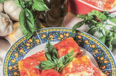 Cannelloni napoletani bufala e prosciutto, un primo piatto dal cuore campano