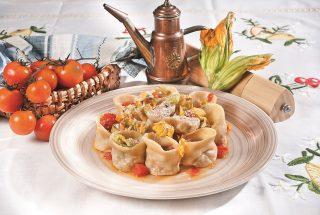 Cappelletti con coniglio e pecorino di fossa, un primo piatto caldo e dal ripieno succulento