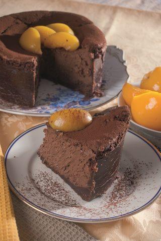 Cheesecake al cioccolato e caffè, il dolce per chi è goloso anche d'estate