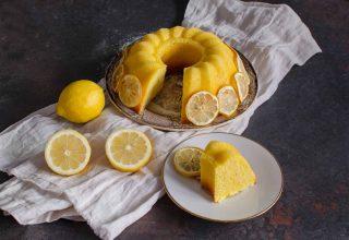 Ciambella al limone: dolce delicato