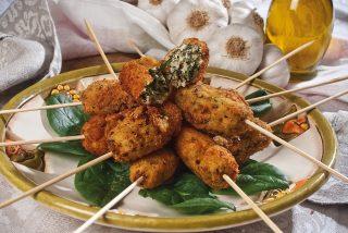 Crocchette di pollo e cicoria, un finger food sfizioso e croccante