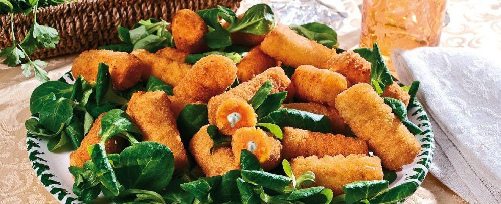 Crocchette di zucca, un antipasto vegetariano sfizioso e croccante