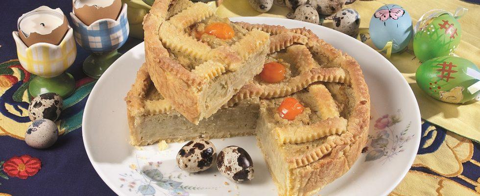 Crostata carciofata, una torta salata vegetariana deliziosa