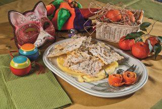 Crostoli ai pistacchi, la variante veneta delle Frappe di Carnevale