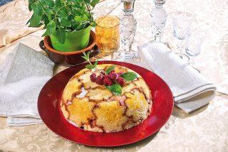 Cupola di pandoro e gelato, un dolce per i pandori natalizi di troppo