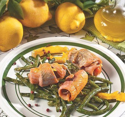 Filetti di trota in acqua di cottura, un secondo leggero e appetitoso
