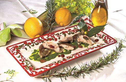 Filetto di cernia con salsa di broccoletti, un secondo di pesce veloce