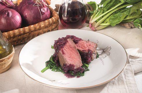Filetto di manzo al sangiovese, un secondo piatto succulento e saporito