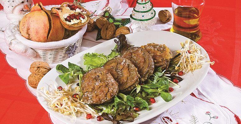 Filetto di vitello con albicocche e noci, un secondo piatto natalizio veloce e gustoso