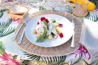 Gallinella di mare al cartoccio con verdure e funghi, un secondo pregiato