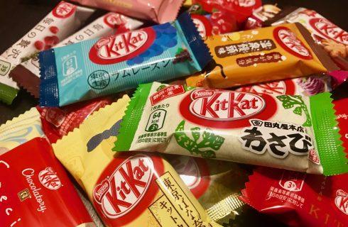 Taste Test: 24 assurdi KitKat giapponesi