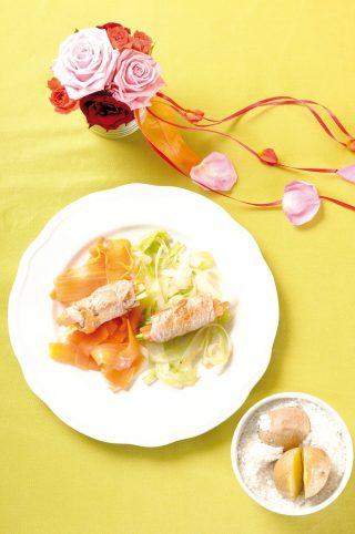 Involtini di vitello primavera con patate novelle al sale: fantasia e gusto a tavola