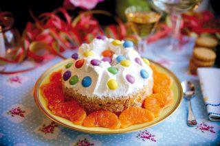 Millefoglie Arlecchino, un dolce colorato e morbido