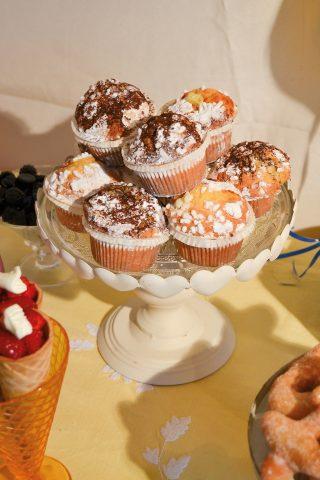 Muffin a pois, un dolce sfizioso per i bambini