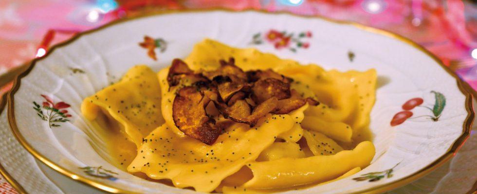 Ravioli di zucca al vinsanto, un primo dal sapore autunnale