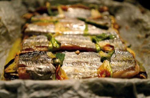 Sandwich di pesce sciabola, un secondo piatto completo e sfizioso