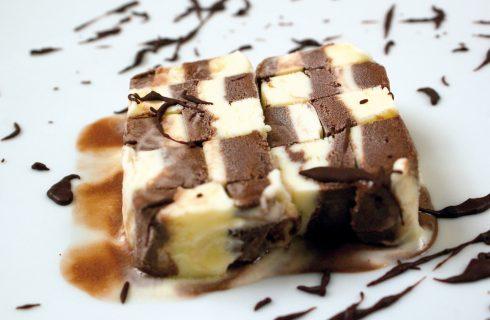 Scacchiera di gelato, un modo facile e divertente per servire il gelato