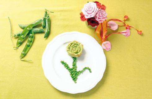 Sformato di piselli, uno sfizioso appetizer o un colorato secondo vegetariano