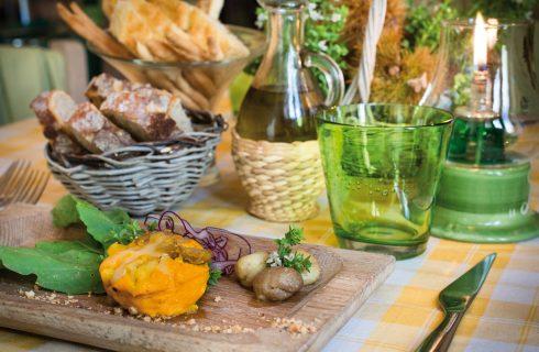 Soufflé cremoso di zucca e castagne, una torta salata coi sapori d'autunno
