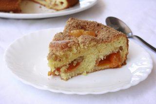 Torta soffice alle albicocche: con il bimby
