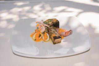 Totani ripieni di zucca, un secondo piatto colorato e delicato