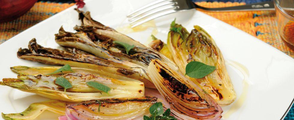 Verdure grigliate in agrodolce, un contorno saporito o un insalata invernale?