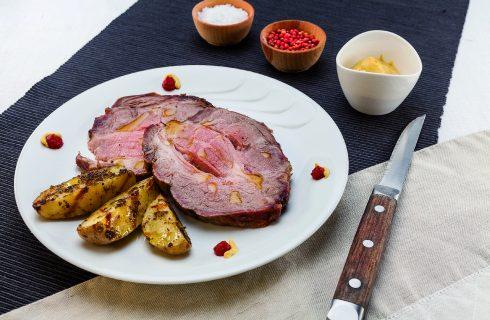 Arrosto di capocollo di maiale al barbecue, secondo saporito