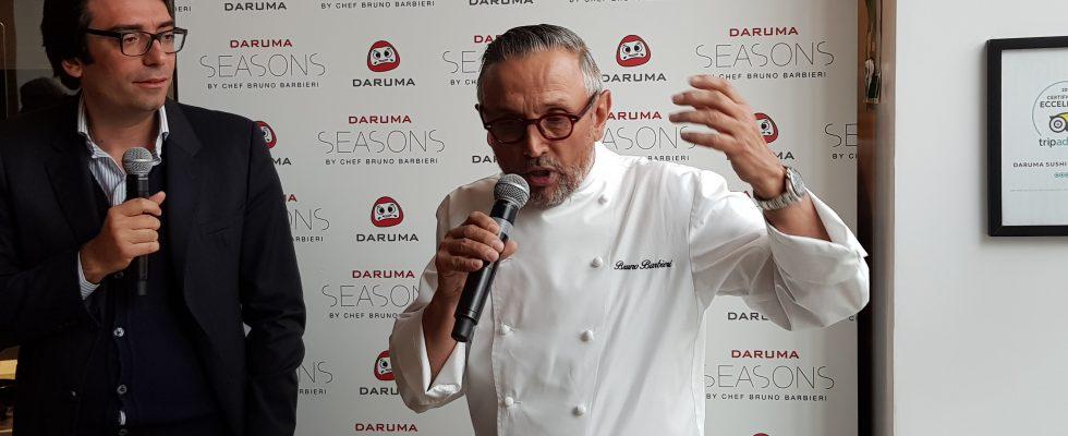 Bruno Barbieri firma uno special menu da Daruma