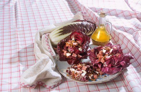Cotechino e lenticchie con radicchio: per le feste