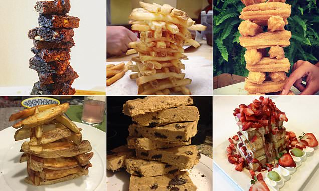 food jenga Instagram