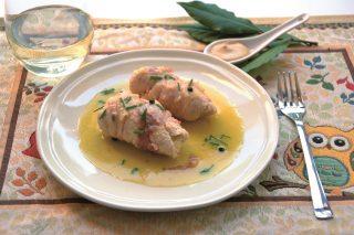 Involtini con senape e pancetta: con il bimby